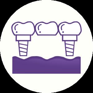 Implant Bridge Icon Dental House Sunbury